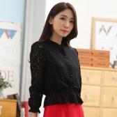 9647黑色  韩版四季百搭短款小香风长袖短外套薄款大码小披肩上衣