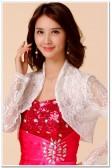 9670白色   四季防晒空调衫韩版小披肩蕾丝长袖大码小外套薄款