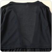 9687灰色  四季百搭空调衫长袖开衫针织雪纺拼接大码上衣外搭