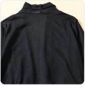 9686灰色  四季百搭开衫针织雪纺拼接中长袖长款大码上衣外搭
