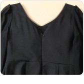 9979黑色  高贵优雅飘逸个性长拂袖修身V领长款礼服连衣裙大码长裙